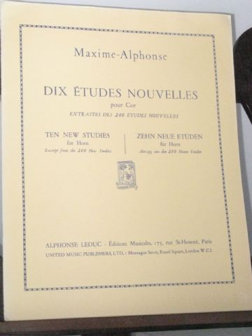 Maxime-Alphonse - 10 New Studies (from the 200 New Studies)